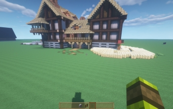 Medieval House fantasy Build