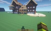 Medieval House fantasy Build