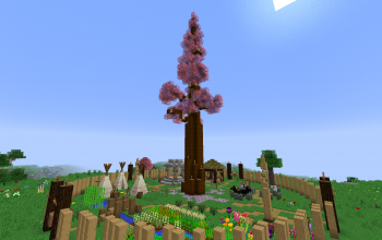 Sevtech Ages starting base - Sakura village