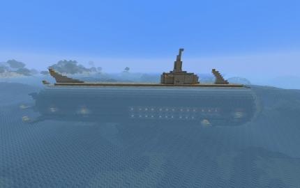 карта майнкрафт виживание на подводной лодке #6