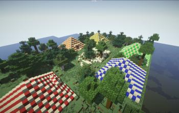 Colorful Pyramids