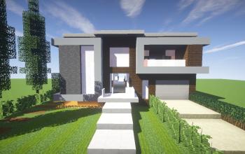 Modern House Building 2