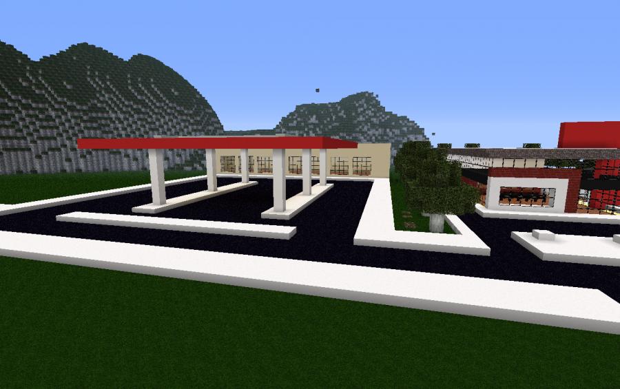 petrol gas station creation 1379