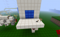 3x3 completely hidden piston door