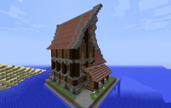 (CustomNPCs) Medieval House