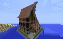 (CustomNPCs) Medieval House
