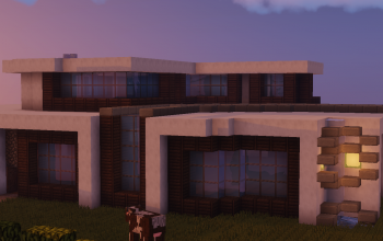 Modern Medium Villa/Mansion