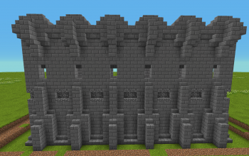 Basic Castle Wall.