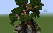 Massive oak treehouse...
