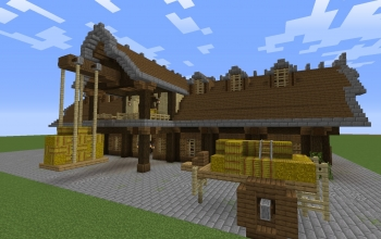 I furnished my barn!... Medieval style...