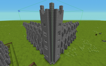 Basic Corner Castle Wall