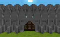 Basic Castle Wall Door.