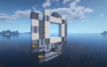 Elykdez's 3x3 Spiral Piston Door