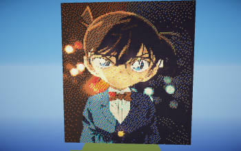 Detective Conan Pixel Art