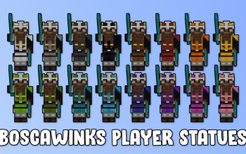 Boscawinks Player Statue