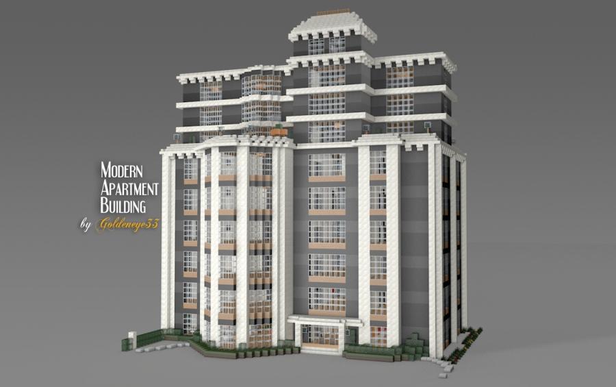 Modern Apartment Building 1 6 2
