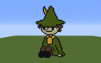 Snufkin Pixel Art