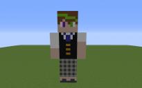 Nolan Uglydolls Pixel Art Statue