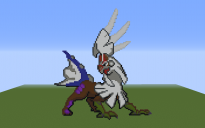 Silvally Pixel Art