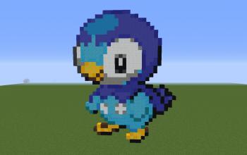 Piplup Pixel Art