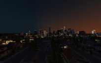 Minecraft Map - Los Angeles Preview #1