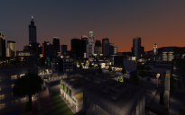 Minecraft Map - Los Angeles Preview #2
