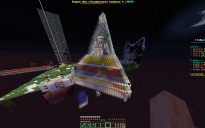 Giant Glass Build with tree and spawn