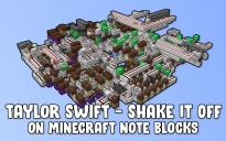 """Taylor Swift - Shake It Off"" on Note Blocks"