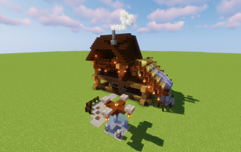 Wooden House #1