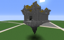 Floating little castle