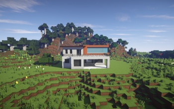 Modern House (March Project Ep3)