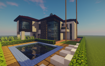 Modern House (March Project Ep4)