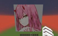 Zero Two Pixel Art