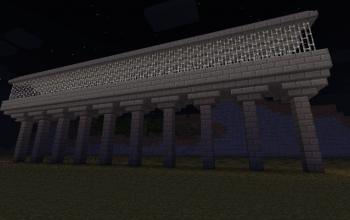 Advanced Minecart Bridge #1 Straight Rail