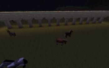 Simple Minecart Bridge #1 Straight Rail
