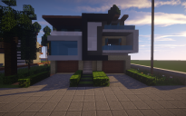 Modern House #5 + Schamatics