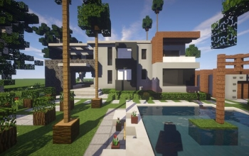 Modern House #3 + Schematic