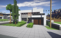 Modern House #6 + Schematic