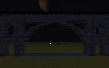 large stone brick bridge