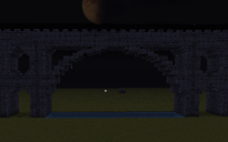 large stone brick bridge