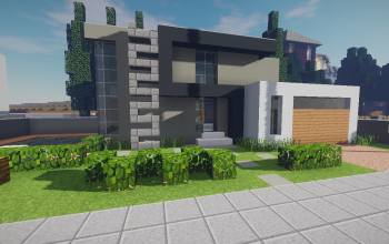 Modern House #7 + Schematics