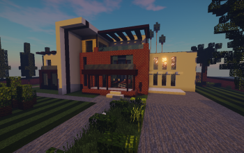 Modern House #9 + Schematics