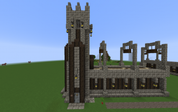 Tower with corner Walls