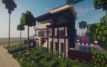 Modern House #10 + Schematics