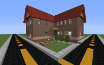 Middle-class Modern L-shaped House