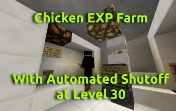 Chicken EXP Farm with Automated Level 30 Shutoff