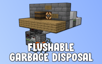 Flushable Garbage Disposal