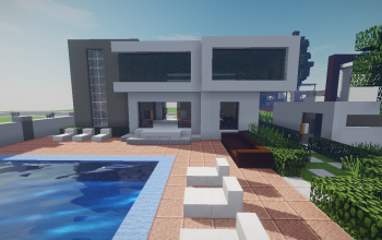 Modern House #13 + Schematics