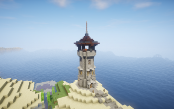 The medieval lighthouse