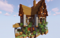 Medieval Spruce Wood House 2
